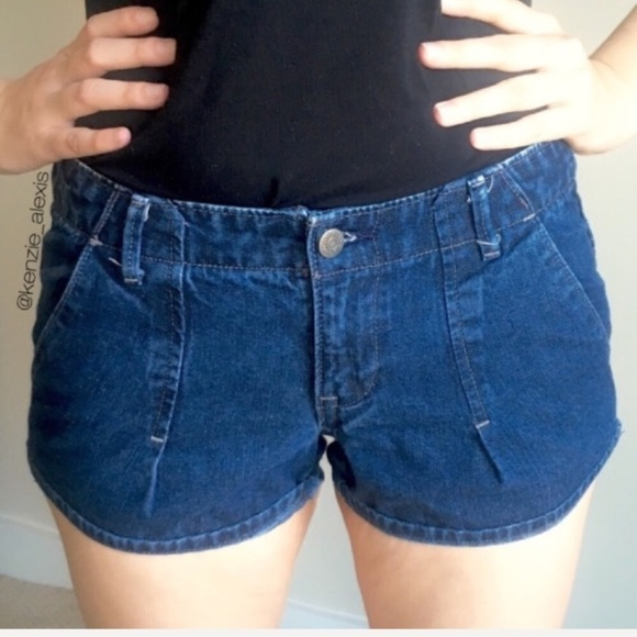 Old Navy lowest rise shorts size 4